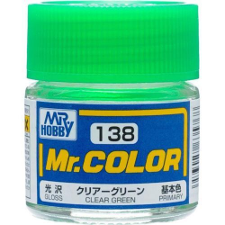 Mr. Color 138 - Clear Green (Gloss/Primary) (C138)