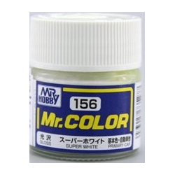 Mr. Color 156 - Super White IV (Gloss/Primary Car) (C156)