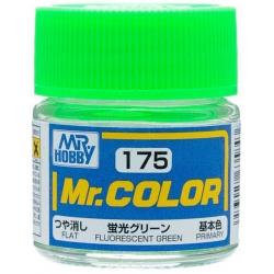 Mr. Color 175 - Fluorescent Green (Gloss/Primary) (C175)