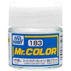 Mr. Color 183 - Super Clear Gray Tone (Semi-Gloss/Primary) (C183)