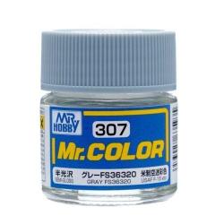 Mr. Color 307 Gray FS36320 (Semi-Gloss/Aircraft) (C307)