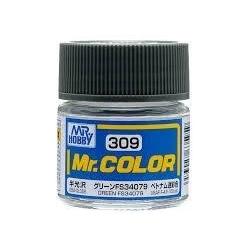 Mr. Color 309 - Green FS34079 (Semi-Gloss/Aircraft) (C309)