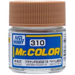 Mr. Color 310 - Brown FS30219 (Semi-Gloss/Aircraft) (C310)