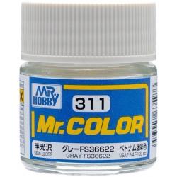 Mr. Color 311 - Gray FS36622 (Semi-Gloss/Aircraft) (C311)
