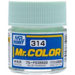 Mr. Color 314 Blue FS35622 (Semi-Gloss/Aircraft) (C314)
