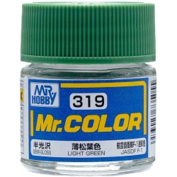 Mr. Color 319 - Light Green (Semi-Gloss/Aircraft) (C319)