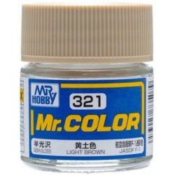 Mr. Color 321 - Light Brown (Semi-Gloss/Aircraft) (C321)