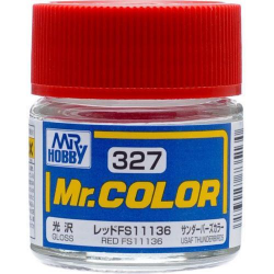 Mr. Color 327 - Red FS11136 (Gloss/Aircraft) (C327)