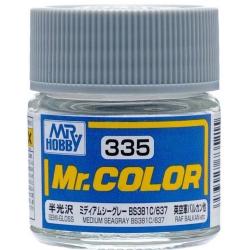 Mr. Color 335 - Medium Seagray BS381C 637 (Semi-Gloss/Aircraft) (C335)
