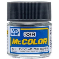 Mr. Color 339 Engine Gray FS16081 (Gloss/Aircraft) (C339)