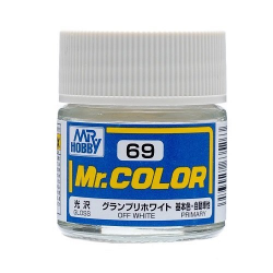 Mr. Color 69 - Off White (Gloss/Primary Car) (C69)