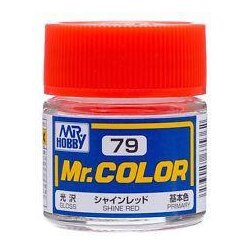 Mr. Color 79 - Shine Red (Gloss/Primary) (C79)