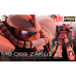RG MS-06S Zaku II 1/144 Scale