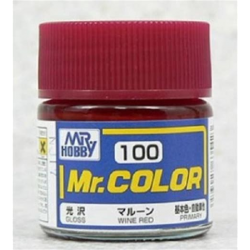Mr. Color 100 - Wine Red (Gloss/Primary) (C100)