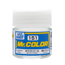 Mr. Hobby - Mr. Color 151 - White Pearl (Pearl/Car) (C151) Canadian Gundam