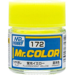 Mr. Color 172 - Fluorescent Yellow (Gloss/Primary) (C172)