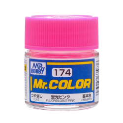 Mr. Color 174 - Fluorescent Pink (Gloss/Primary) (C174)