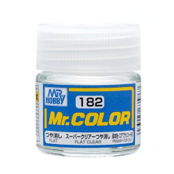 Mr. Color 182 - Flat Clear (Flat/Primary) (C182)