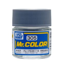 Mr. Color 305 - Gray FS36118 (Semi-Gloss/Aircraft) (C305)