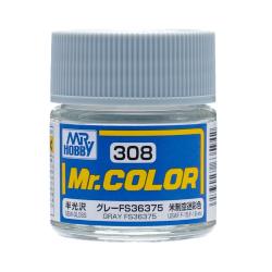 Mr. Color 308 Gray FS36375 (Semi-Gloss/Aircraft) (C308)