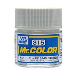 Mr. Color 315 - Gray FS16440 (Semi-Gloss/Aircraft) (C315)