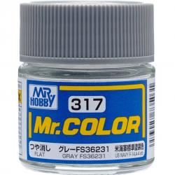 Mr. Color 317 - Gray FS36231 (Semi-Gloss/Aircraft) (C317)