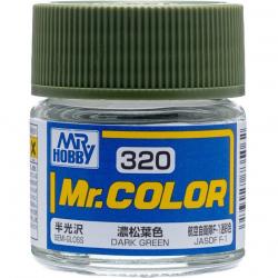 Mr. Color 320 - Dark Green (Semi-Gloss/Aircraft) (C320)
