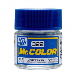 Mr. Color 322 - Phthalo Cyanne Blue (Gloss/Aircraft) (C322)