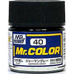 Mr. Color 40 - German Gray (Flat/Tank) (C40)
