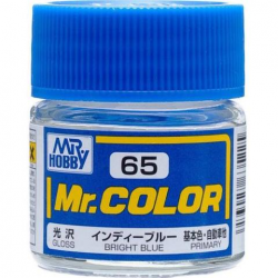 Mr. Color 65 - Bright Blue (Gloss/Primary Car) (C65)