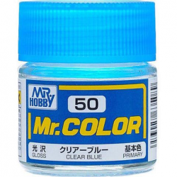 Mr. Color 50 - Clear Blue (Gloss/Primary) (C50)