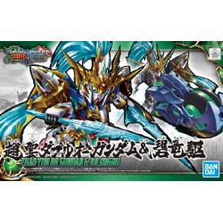 SD SANGOKU SOKETSUDEN - Zhao Yun 00 Gundam & Blue Dragon Drive (07)