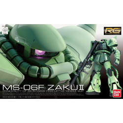 RG MS-06F Zaku II 1/144 Scale