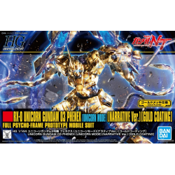HG UC UNICORN 03 PHENEX (NARRATIVE Ver.) [GOLD COATING] (227)