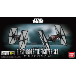 FIRST ORDER TIE FIGHTER SET (004)