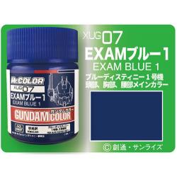 G Color - Exam Blue 1 - (XUG07)