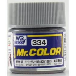 Mr. Color 334 - Barley Gray BS4800/18B21 (Semi-Gloss/Aircraft) (C334)