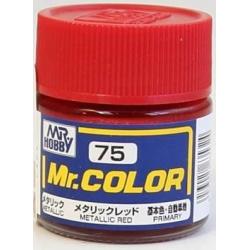 Mr. Color 75 - Metallic Red (Metallic/Primary Car) (C75)