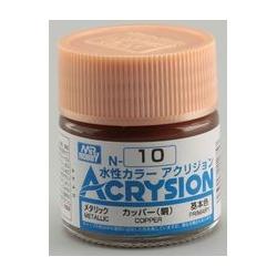 Acrysion N10 - Copper (Metallic/Primary) (N10)