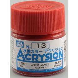Acrysion N13 - Flat Red (Gloss/Primary) (N13)Acrysion N13 - Flat Red (Gloss/Primary) (N13)