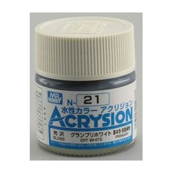 Acrysion N21 - Off White (Gloss/Primary) (N21)