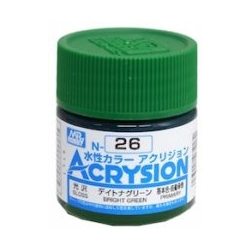 Acrysion N26 - Bright Green (Gloss/Primary) (N26)