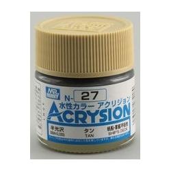 Acrysion N27 - Tan (Gloss/Primary) (N27)