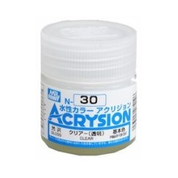 Acrysion N30 - Clear (Gloss/Primary-For Coat) (N30)