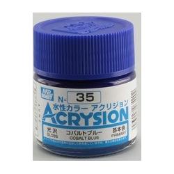 Acrysion N35 - Cobalt Blue (Gloss/Primary) (N35)