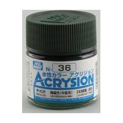 Acrysion N36 - IJN Green Nakajima (Semi-Gloss/Aircraft) (N36)