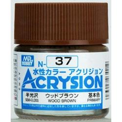 Acrysion N37 - Wood Brown (Semi-Gloss/Primary) (N37)