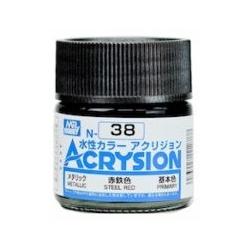 Acrysion N38 - Steel Red (Metallic/Primary) (N38)