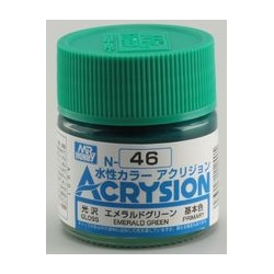 Acrysion N46 - Emerald Green (Gloss/Primary) (N46)