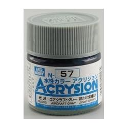 Acrysion N57 - Aircraft Gray (Gloss/Aircraft) (N57)